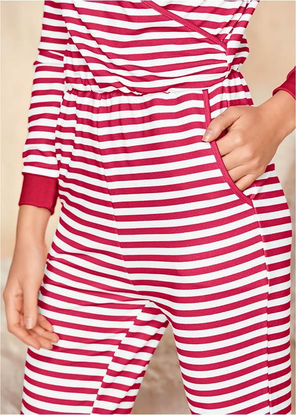 Alternate View Striped Onesie
