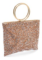 crystal embellished handbag