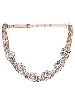 embellished chain belt