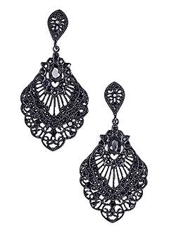 lace drop earrings