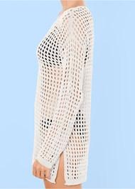 Alternate View Crochet Tunic