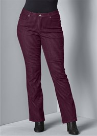Alternate View Velvet Stripe Pants