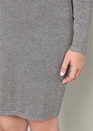 Alternate View Embellished Sweater Dress