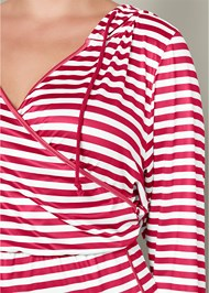 Alternate View Striped Onesie