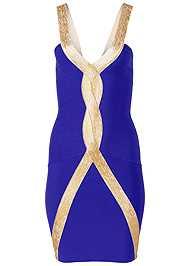 Alternate View Bandage Bodycon Dress