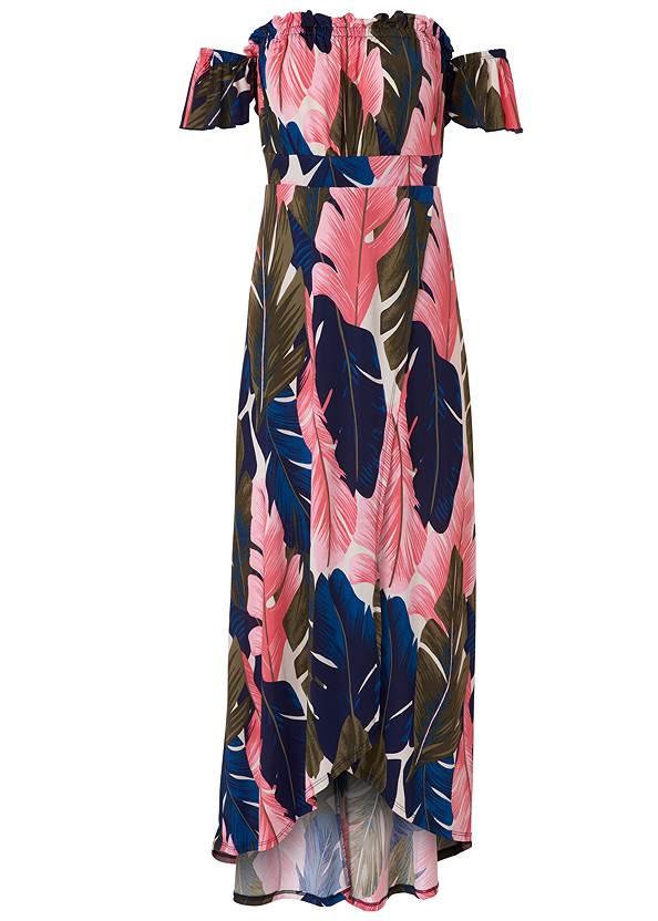 Alternate View Off-The-Shoulder Maxi Dress