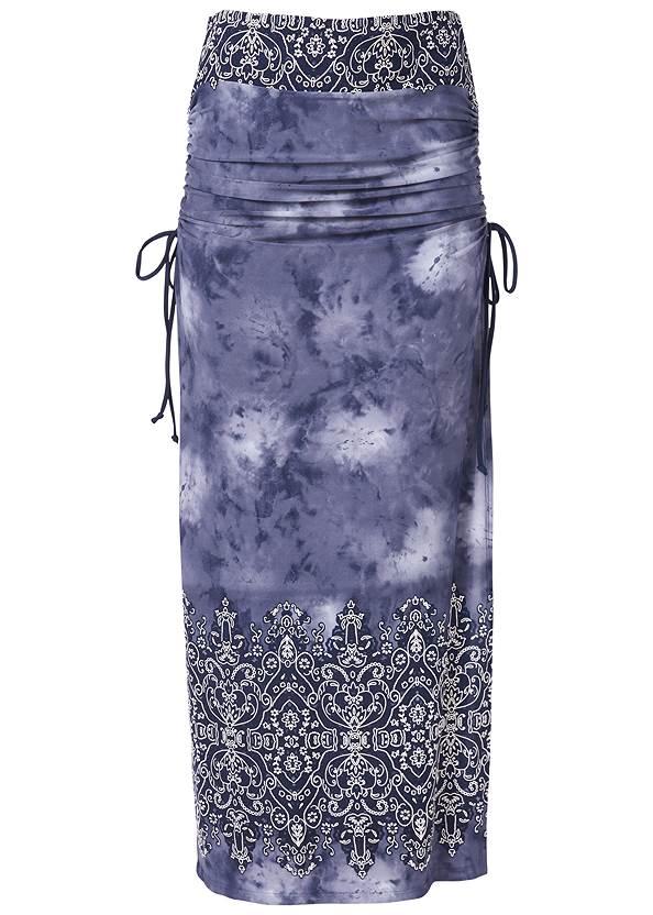 Alternate View Ruching Detail Maxi Skirt