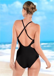 Back view Twisted Monokini