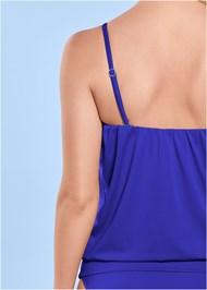 Alternate View Blouson Bandeau Bikini Top