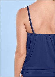 Alternate View Blouson Tankini Top