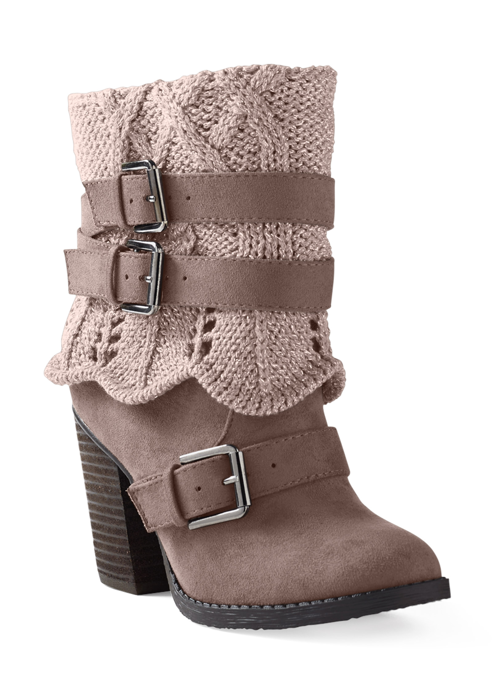 NEW BUCKLE MY SHOE LEATHER SUEDE BOOTS ZIPPED BOOTS LESS THAN HALF PRICE   VENUS