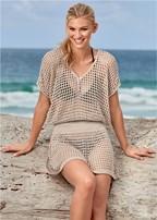 crochet dress cover-up