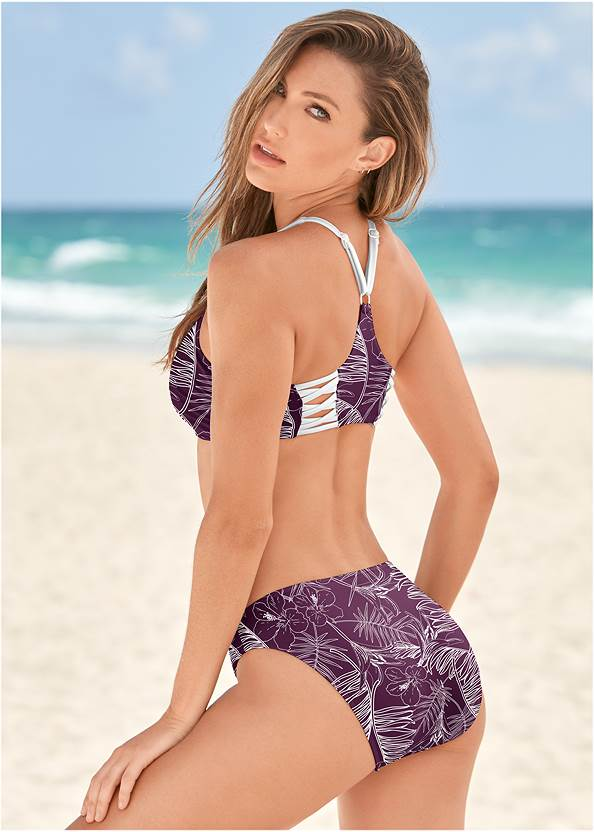 Back View Scoop Front Classic Bikini Bottom