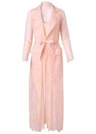 Alternate View Lace Detail Coat Dress