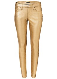 Alternate View Metallic Jeans