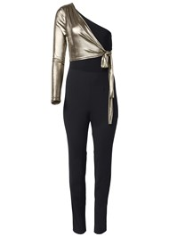 Alternate View Metallic Detail Jumpsuit