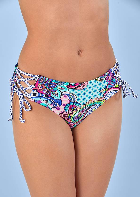 Alternate view Lattice Side Bikini Bottom
