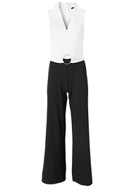 Alternate View Belted Jumpsuit