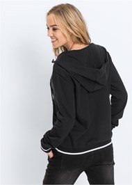 Alternate View Lace Up Sweatshirt