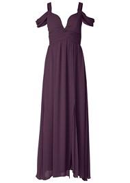Alternate View Cold Shoulder Detail Dress