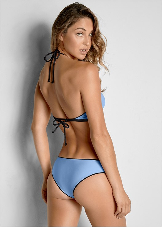 VERSATILITY BY VENUS™  REVERSIBLE CHEEKY BOTTOM,VERSATILITY BY VENUS ™ REVERSIBLE LACE UP TOP