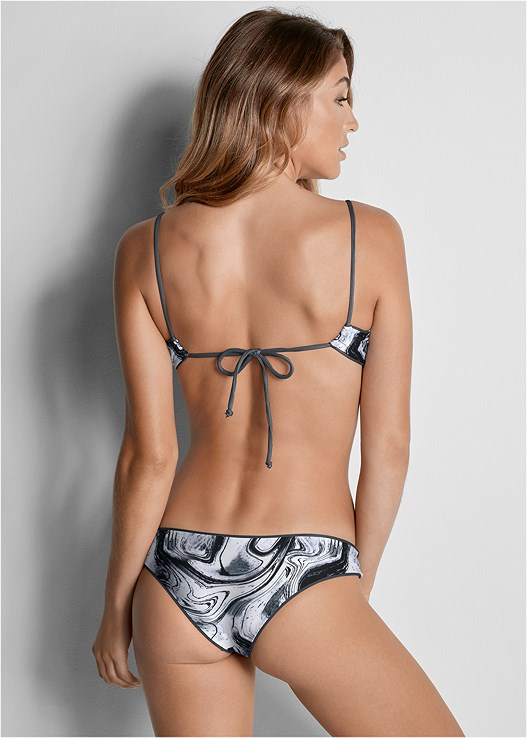 VERSATILITY BY VENUS™  REVERSIBLE CHEEKY BOTTOM,VERSATILITY BY VENUS ® REVERSIBLE KNOTTED TOP