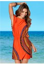 Front View Blouson Cover-Up Dress