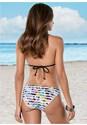 Back View Strappy Triangle Bikini Top