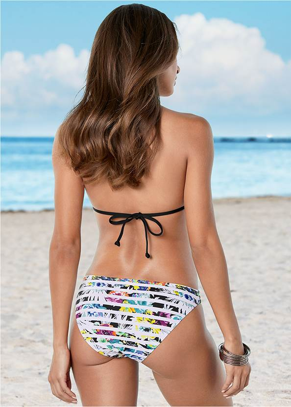 Back View Strappy Low Rise Bottom