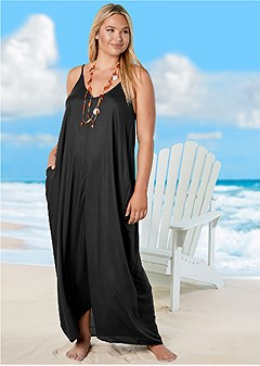 2edbeb583e973 Plus Size Bathing Suit Cover Ups: Dresses & Skirts - VENUS