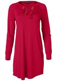 Alternate View Grommet Lace Sleep Dress