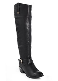 Alternate View Buckle Riding Boots