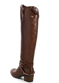 Back View Buckle Riding Boots