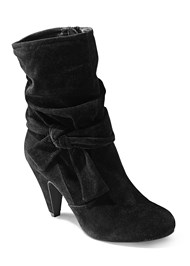 Knotted Slouchy Boots