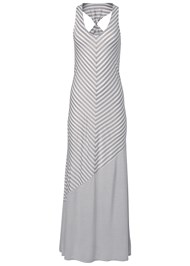 Alternate View Striped Maxi Cover-Up