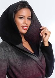 Alternate View Ombre Wool Coat