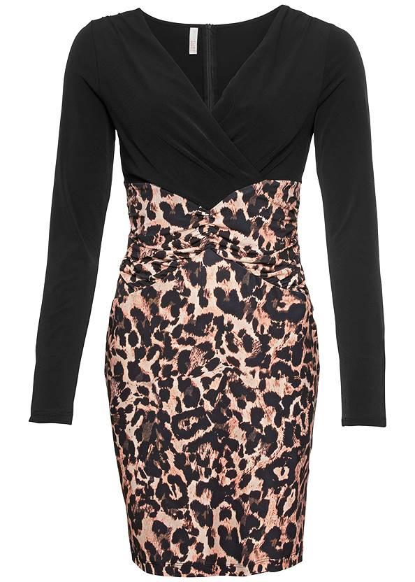 Alternate View Leopard Printed Dress