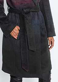 Alternate View Ombre Wool Coat