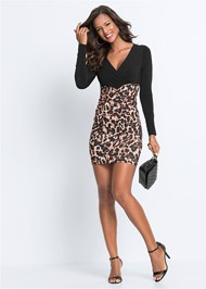 Alternate View Leopard Printed Dress