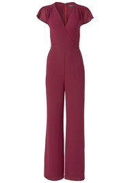 Alternate View Cross Front Jumpsuit