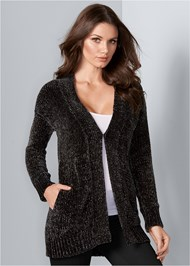 Front View Chenille Cardgian
