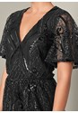 Alternate View Sequin Detail Romper