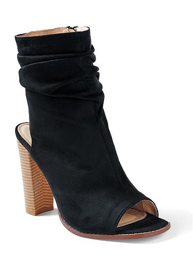 Open Heel Booties