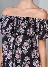 Alternate View Off The Shoulder Floral Top