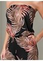 Alternate View Palm Print Jumpsuit