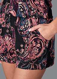 Alternate View Paisley Printed Romper