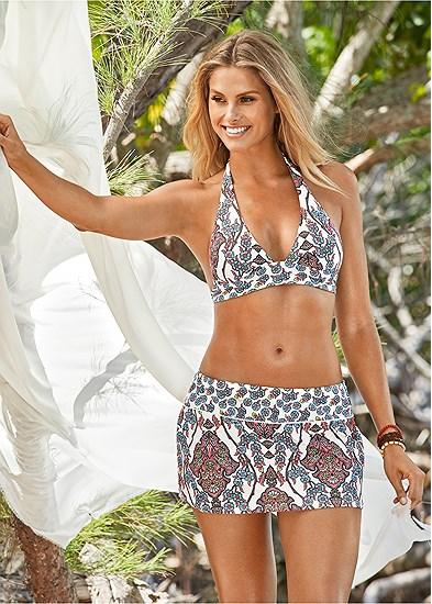 Sash Halter Bikini Top
