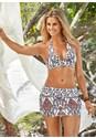 Front View Sash Halter Bikini Top