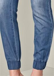Alternate View Denim Lace Jumpsuit