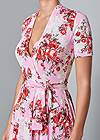Alternate View Surplice Floral Dress